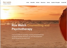 "Ros Welch - Counselling & Psychotherapy- ""embracing the new normal""."