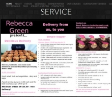 Rebecca Green Catering - New Home Delivery