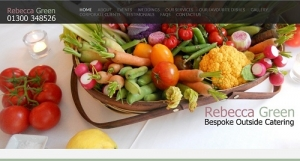 Combining Event & Product Photography with Web Development  for Rebecca Green Catering